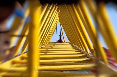 Фото с башенного крана